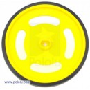 Solarbotics Yellow Wheel D67 mm
