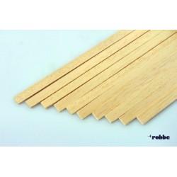Obechi rectangular strip 2 x 10 x 1000 mm