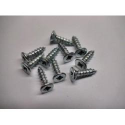 Phillips countersunk screw 3 x 13 mm (10 pcs)