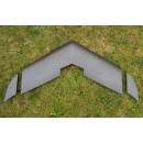 EPP 920 mm Model Flying Wing Black