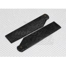 Carbon Fiber Tail Blades 105 mm (2 pcs)