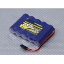 Turnigy LSD 6V/ 2300mA NiMH Receiver Pack Flat