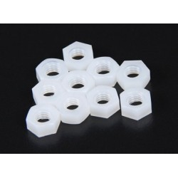 Nylon Hex Nut M5 (10 pcs)