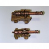 36 mm cannon with wooden carriage (5 pcs)