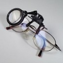 Magnifier for reading glasses