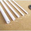 ABS Round Tube D6 x 500 mm (10 pcs)