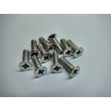 Phillips countersunk screw M4 x 20 mm (10 pcs)