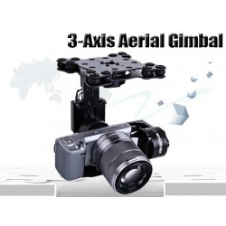 3-Axis Aerial Brushless Gimbal