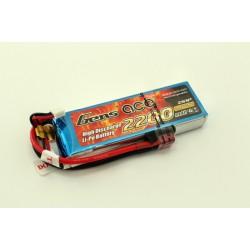 GENS ACE LiPo Battery 7.4 V/ 2200 mA/ 25C