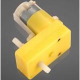 Plastic Gearmotor Offset D5.5 Shaft Output 48 : 1