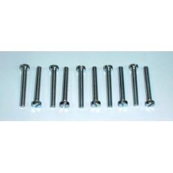 Slot head screw M4 x 30 mm (10 pcs)