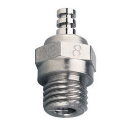 O.S. Glowplug No.8 (Medium)