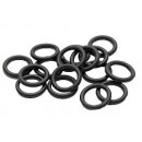 Rubber O-Ring 2 x 10 mm (25 pcs)