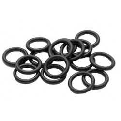 Rubber O-Ring 2 x 6 mm (25 pcs)